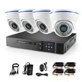 Wholesale 4CH TVI CVI AHD DVR Megapixel IR P Outdoor Indoor Camera Security System