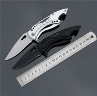 Wholesale New high hardness stainless steel handle opener outdoor multifunction folding knife survival knife army knife FK A013