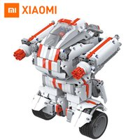 Wholesale 2017 New Xiaomi Robot building Block Mi Bunny Intelligent Robot Bluetooth Mobile Remote Control Spare Parts Self balance System
