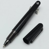 Wholesale Limited Edition Mount black resin MB pen with Magnetic closure cap luxury pens for writing with black clip