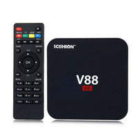 beat media - Quad core Rockchip RK3229 Android V88 K Boxes Android OTT TV Box Media Player support Kodi Wifi HDMI Beat mxq android tv box