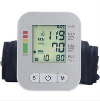 Wholesale Electronic Blood Pressure Monitor Health care Portable Accurately Check Blood Pressure High Quality New Design Hot Sale