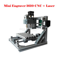 Wholesale mini CNC mw laser CNC engraving machine Pcb Milling Machine Wood Carving machine DIY mini CNC router with GRBL control