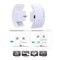 Wholesale 300M Wireless N Wifi Repeater N Network Router Range Expander Extender