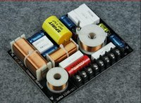 Wholesale ways Speaker Crossover Fever Grade Speaker Filter W Hz Hifi Sound Speaker DIY Accessories