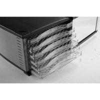 Wholesale Electric Food Fruit Dehydrator PVC Plastic tray Adjustable Temperature Control trays V HZ