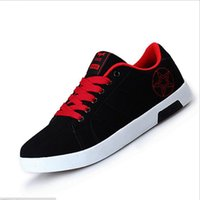 basic canvas shoes - Aolamegs Men Casual Shoes Fashion Simple Basic Mixed Colors Embroidered Breathable Mesh Students Shoes Autumn New Design Walking Shoes