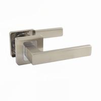Wholesale R0715NBCP Door Handle Door Lever Brush Nickel Chrome