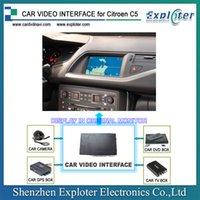 australia units - Citroen C4 C5 Add on GPS Rear view on RT6 head unit monitor