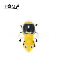 Los niños lindos de la abeja solar de la venta al por mayor-Caliente juega los juguetes educativos solares educativos interesantes de los niños populares de la abeja accionada solar de la energía
