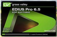 Version EDIUS 6.55 de l'utilisation permanente de la version crack du logiciel professionnel d'édition vidéo
