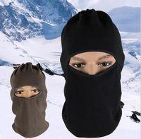 Wholesale Outdoor Sports warm masks Windproof Cotton Milk Silk Full Face Neck Ninja Headgear Hat Riding Hiking Cycling Masks JF