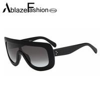 Precio de Gafas de diseño fresco-Las gafas de sol de gran tamaño del espejo del diseñador de la marca de fábrica estupenda al por mayor-Nuevo 2016 de la estrella estupenda refrescan los vidrios de Sun del punto de los hombres de las mujeres Lunette De Soleil UV400