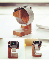 Wholesale Wooden Charge Holder Stand Docking Station Bracket for mm and mm with two styles online shopping