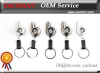 Wholesale Auto Parts Model Type Spinning Ring Turbo Charger Key chain with Whistle Sound Key ring Spool Drift JDM TDI VAG Euro Keyfob