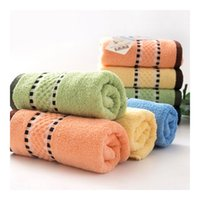 best value cottons - 100 Cotton Towel Water Absorbent Towel Standard PH Value Multicolor Porcelain Pattern Best Selling Good Quality