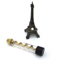 Wholesale Twisty Glass Blunt Pipes Dry Herb Vaporizers Twist Me Vape Kits With More Accessries pipes High Quality Clone