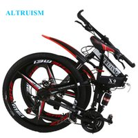 Wholesale ALRTUISM X9 Mountain Bike Speed Steel Inch Steel Bicycles Road Bikes Racing Bicycle for Mens Folding Mountain Bike
