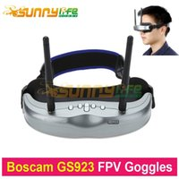 glasses fpv - Original Boscam GS923 Wireless Video Glasses FPV Goggles with G Dual Diversity CH Receiver for QuadcopterAerial Photography