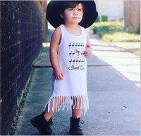 Les plus récentes filles Bébé pour enfants Robes pour enfants Robes en coton à manches pour filles Robes pour enfants Vêtements pour enfants