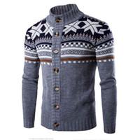 acrylic cardigan sweaters for men - SIF Fashion Autumn Winter Men s Cardigans Sweaters Mandarin Collar Casual Clothes For Men Zipper Sweater Warm Knitwear Sweater