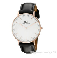 Wholesale 2017 Daniels Wellingtons watches Brand watch men watch Ladies watch Star with the watches