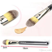 Wholesale 190 Contour Brushes Makeup Brush Face Foundation Blush Blush Powder Concealer Contour Facial Brushes Wood Handle Cosmetics Tool