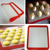 Wholesale kitchen tools Non Stick Silicone Pastry Bakeware Baking Mat Tray Oven Dough Rolling Liner Sheet baking tools kitchen accessories