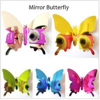 bedroom mirror - DIY Wall Stickers Butterfly D Mirror Wall Decal Art Home Party Wedding Wedding Decor Adesivo De Parede