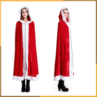 adult cloaks - Christmas Party Costumes Little Red Riding Hood cloak sexy adult women s sexy outfit Xmas dress Christmas costume cosplay cloak