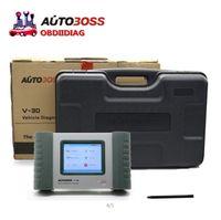 Wholesale Original Autoboss V30 SPX Autoboss V30 English Spanish Russian AS launch diagun ii update via official website plastic Case