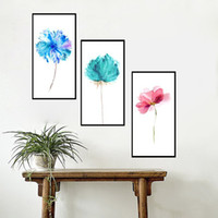 Wholesale 3 Panel Modern Art Printed Flower Sunshine Lover s Painting Picture On Canvas Non Woven Fabri Kicthen Decoration For Living Room With Frame