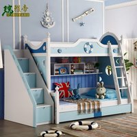 animal fences - Promotion of Children Double Bed with Bed Boy on The Bed Cluster Environmental Fence Down Multifunctional Bunk