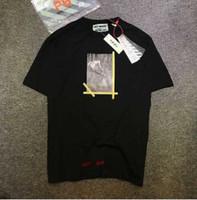 Wholesale Summer Style Tshirt Off White T Shirt Men Women1 Justin Bieber Clothing Jesus Religion Tee Shirt Cut Off White T shirt