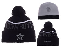 Wholesale 2017 New Beanies Dallas Pom Knit Hats Sports Cap Beanies Hat Mix Match Order All Caps in stock Top Quality Hat