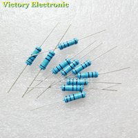 Resistencia del anillo del color de los resistores de película del metal del ohm +/- 1% 2W 1K R de la resistencia de la película de metal de Wholesale-50PCS / Lot 2W