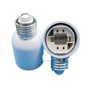 Wholesale E27 to G24 Lamp holder Converter LED Light adapter