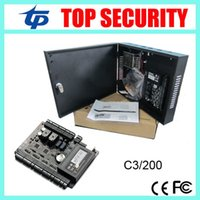 access communications - C3 two doors access control panel zk door access control system access control board with TCP IP communication