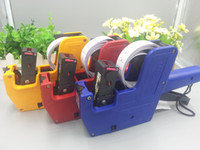 Wholesale Retail Price Gun MX Retail Store Pricing Tag Label Ink Marking Price Gun Labeler One Roll Lable Stickers One Re ink Roller