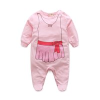 Wholesale 2016 girls treasure powder cotton baby clothes climb clothes perspiration breathable soft and comfortable wearing quality and safety is a