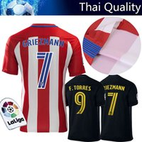 best fleeces - 2017 AAA Thailand the best quality jersey Atletico Madrides jersey Griezmann Koke16 football clothes