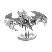 batman signal light - Silver Color Batwing Model D Metal Puzzle Batman V Superman Dawn of Justice Batmobile Bat Signal Light DIY Jigsaw Toy