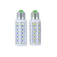 Wholesale High Power AC220V LED Lamp corn bulb Spotlight E27 W leds SMD lampada Corn Led Bulb Christmas Chandelier Candle Light