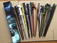 Wholesale harry potter wands magic tricks for Christmas gift cosplay style harry potter wands with box