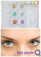 Wholesale New Ice and snow three color Tone Color Contact Lenses Fresh Lens Coloured