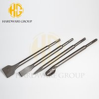 Wholesale High Quality SET SDS PLUS Shank Chisel X250mm Point Flat Gouge Electric Hammer Chisels Slooting Drilling Concrete Brick Wall Tile
