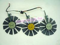 asus gaming - Original Graphics cards cooling fan for ASUS STRIX RX480 O8G GAMING STRIX GTX1060 O6G GAMING TI GTX1070 T129215SU T129215SM