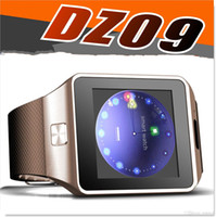 Wholesale DZ09 Smart Watch Factory Outlet inch Smart Watch DZ09 Support SIM Card TF card For Android IOS cellphone