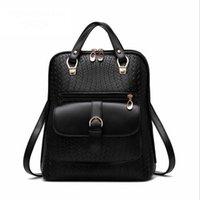achat en gros de sac à dos de l'école américaine de fille-Mode de loisirs américain PU dame sac à dos femmes sac à dos sac à dos filles sac à dos pour l'école ou de magasinage
