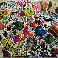 Wholesale Fy Toy Mixed Patterns Stickers PVC Waterproof Stickers For Travel Suitcase Wall Pencil Box Bike Phone Car Sticker Custom made